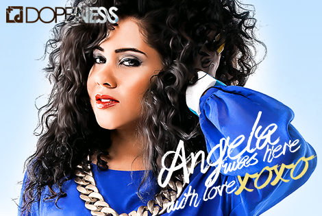Radio Star Angela Yee Covers Dopeness Magazine With Love (Cover Story 2013)