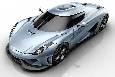 The 2016 Koenigsegg Regera
