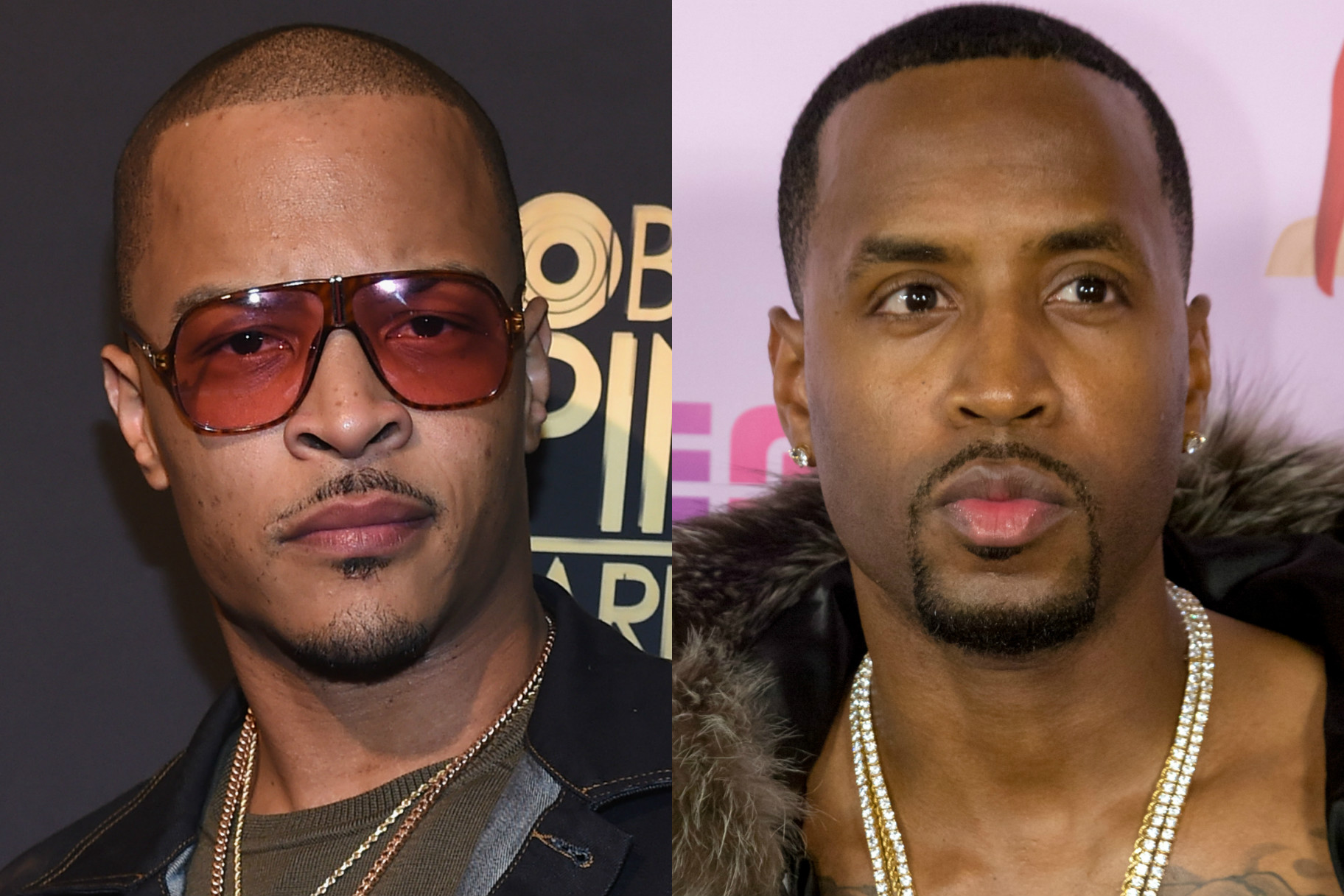 Safaree Tells T.I. That His Lyrics Are 'Subpar' During A Taping Of VH1's 'Hip-Hop Squares'