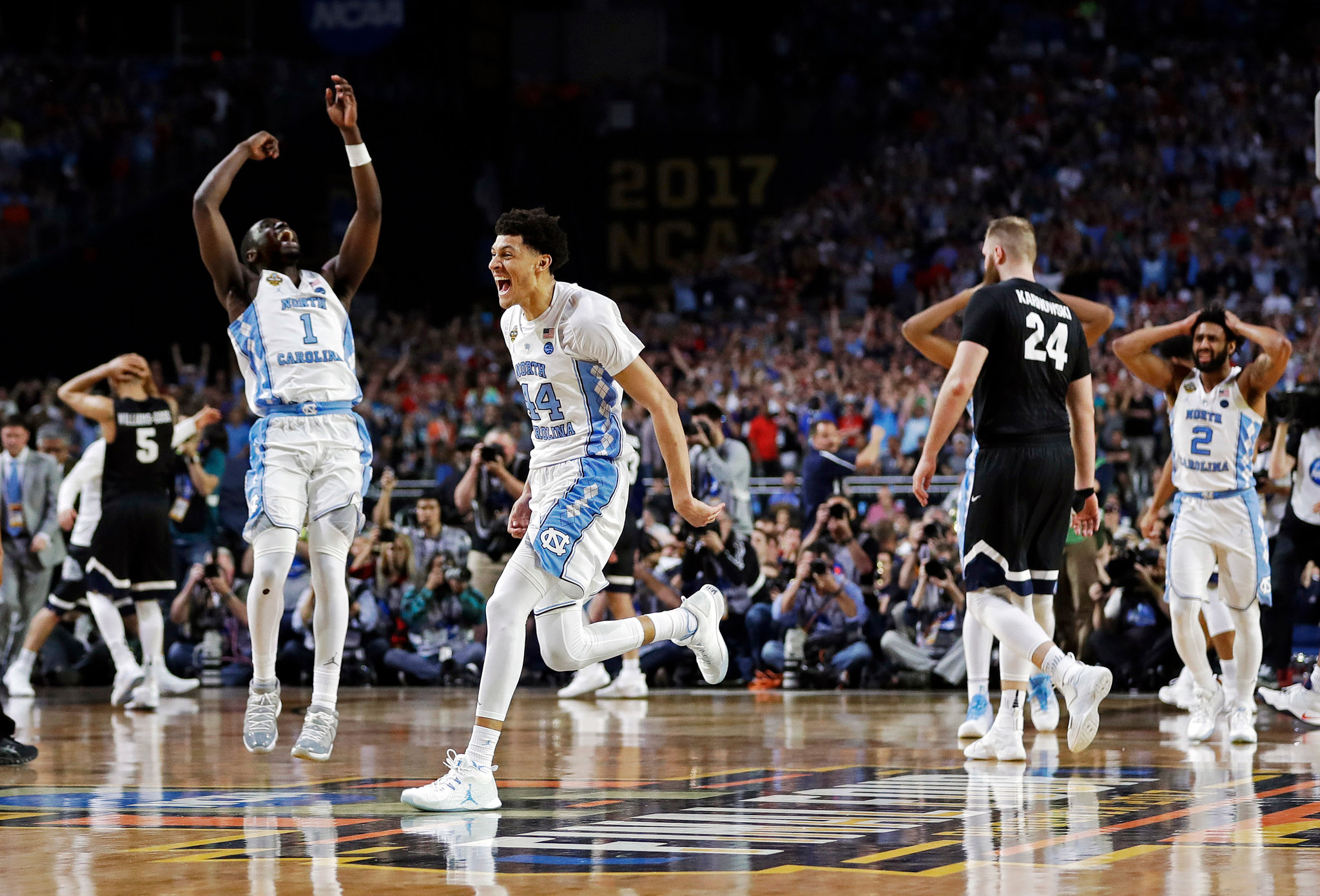 North Carolina stuffs Gonzaga to win NCAA basketball championship