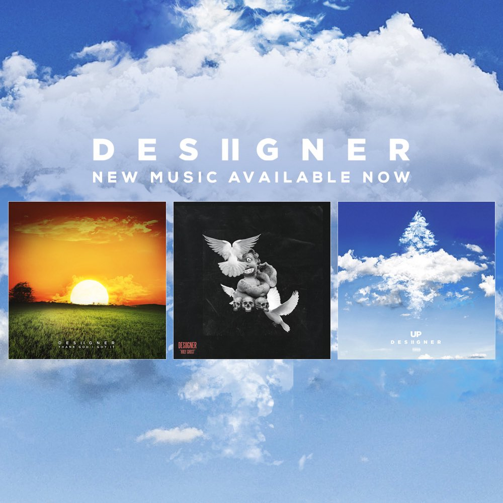 """Desiigner Drops Two New Tracks """"Up"""" And """"Thank God I Got It"""""""